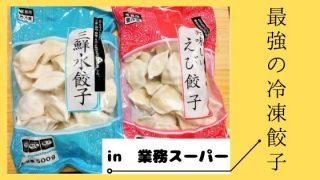 業務スーパーの冷凍餃子オススメ2選